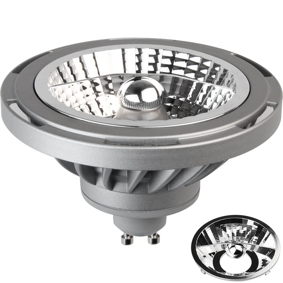 PRO M16 LED EVO DIMMABLE GU10 GRIGIA